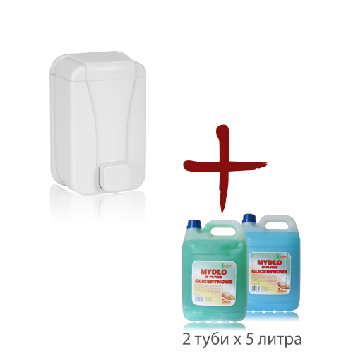Промо пакет течен сапун + дозатор